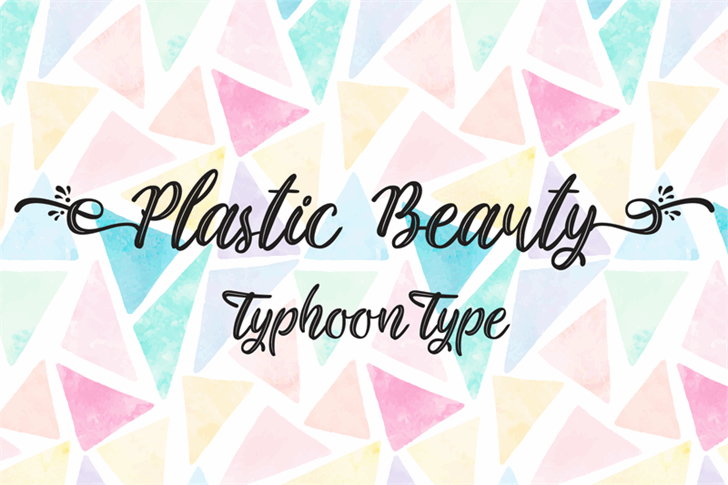 Image for Plastic Beauty font