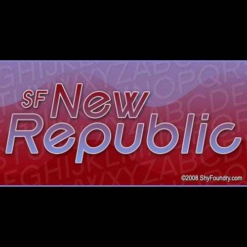 Image for SF New Republic font