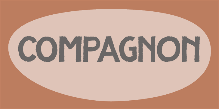 Image for DK Compagnon font