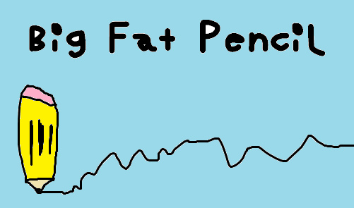 Image for Big Fat Pencil font
