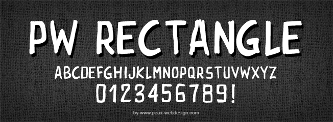 Image for PWRectangle font