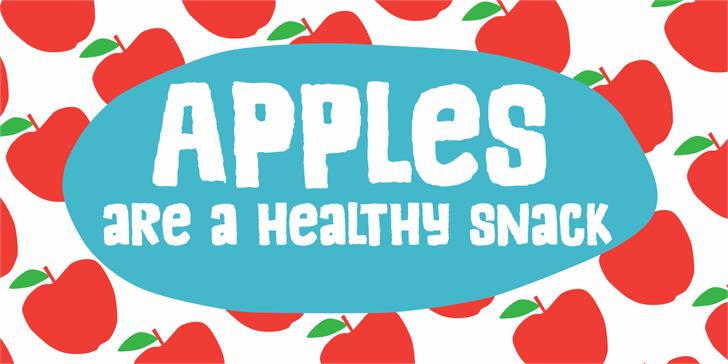 Image for DK Appelstroop font