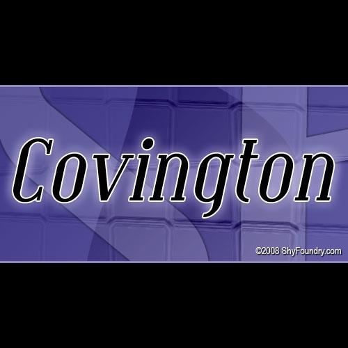Image for SF Covington font