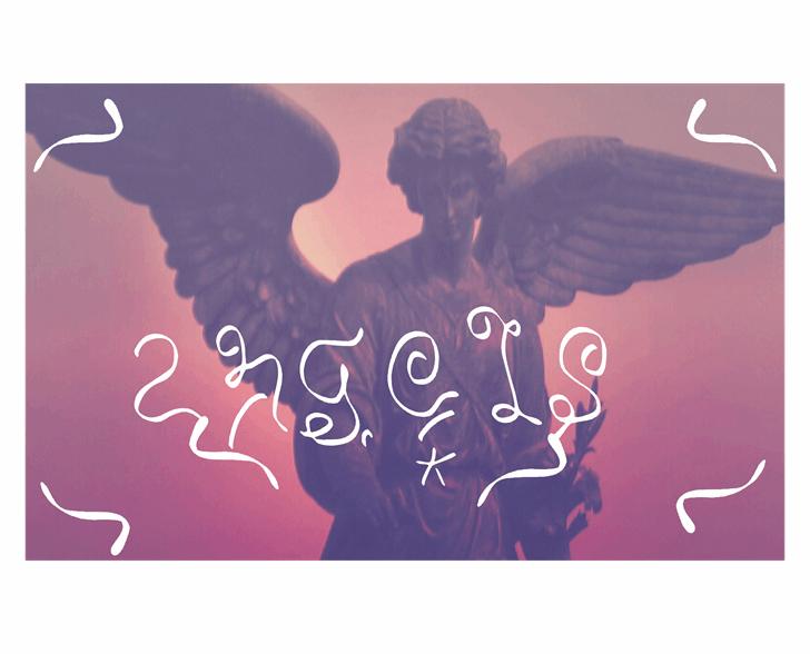 Image for angels font