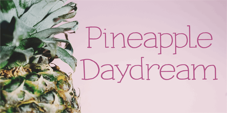 Pineapple Daydream DEMO font by David Kerkhoff