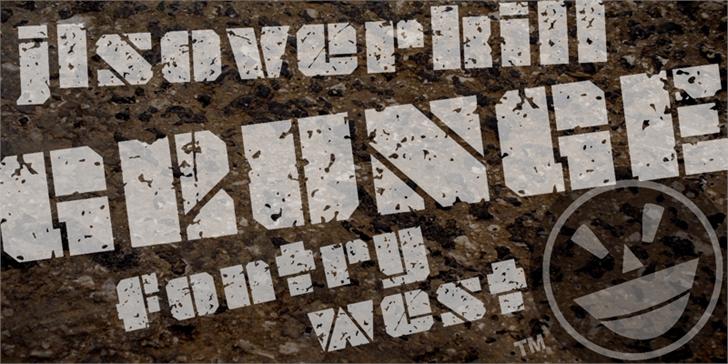 Image for JLS OverKill Grunge font