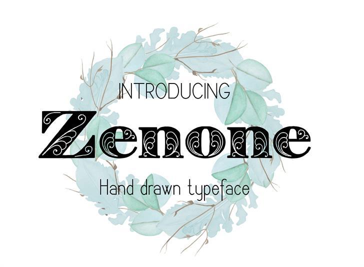 Image for Zenone font