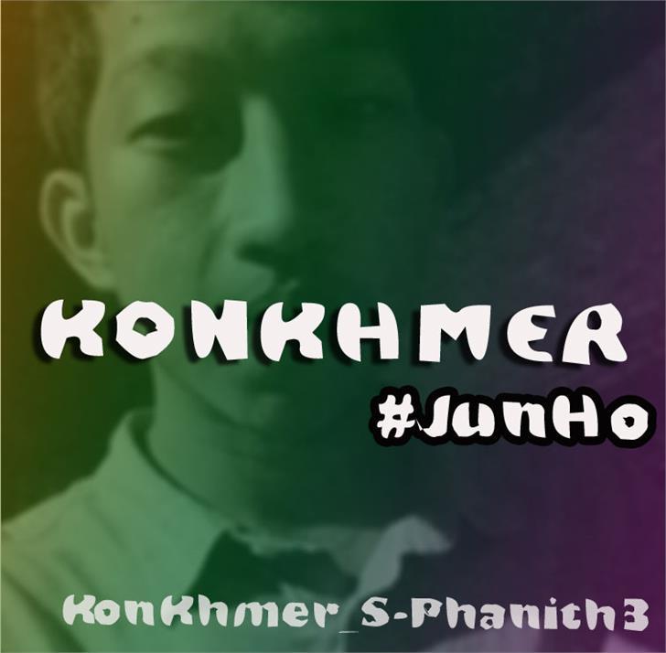Image for KonKhmer_S-Phanith3 font