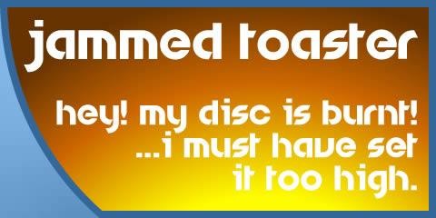 Image for Jammed Toaster font