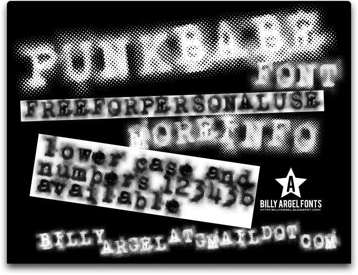 Image for PUNKBABE font