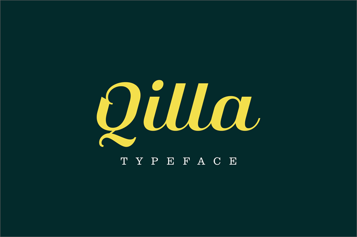 Image for Qilla font