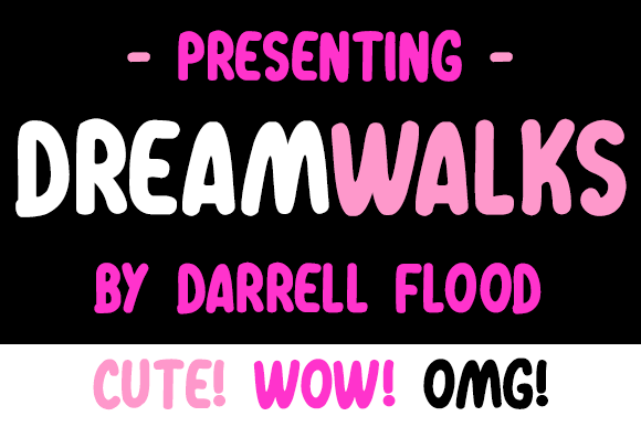 Image for Dreamwalks font