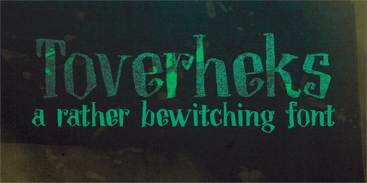 Image for DK Toverheks font
