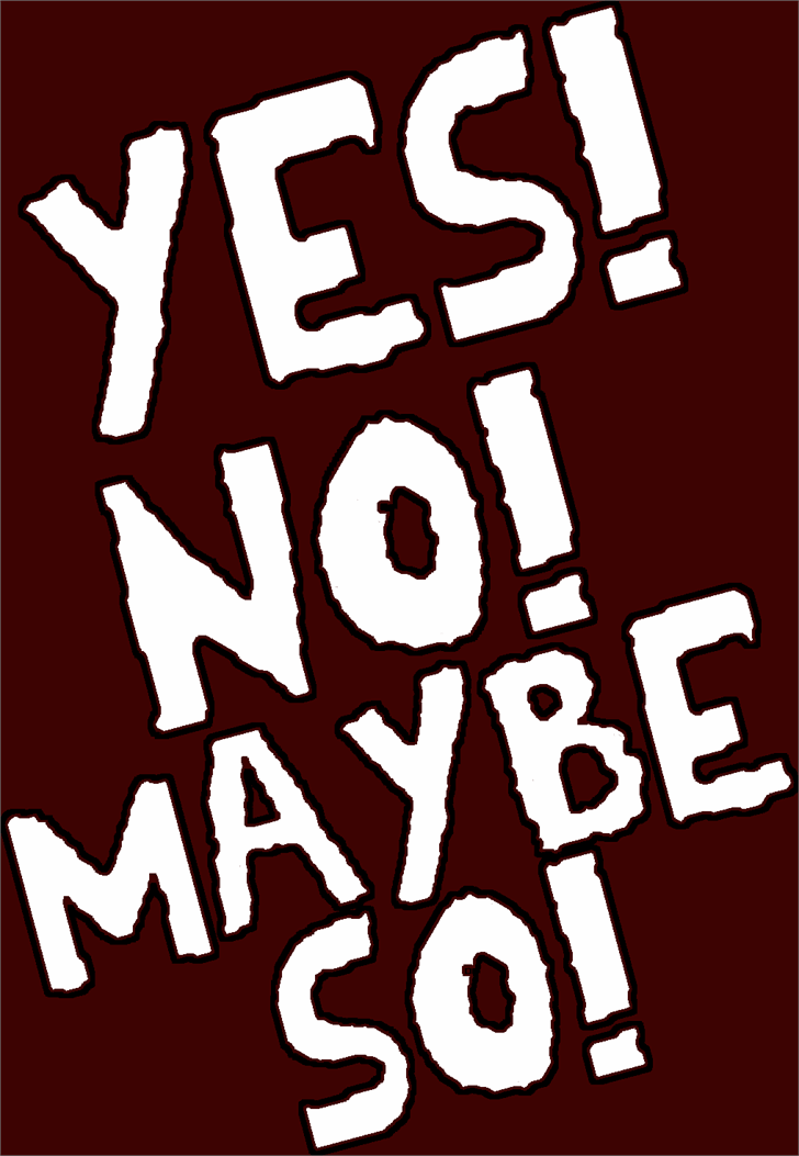 Image for YES! font