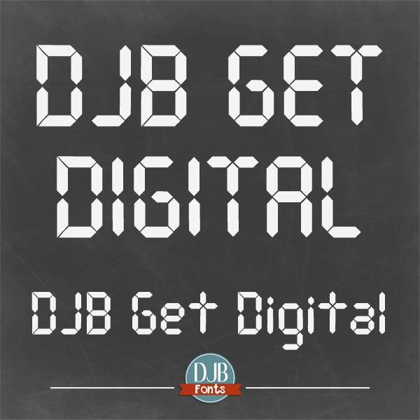 Image for DJB Get Digital font