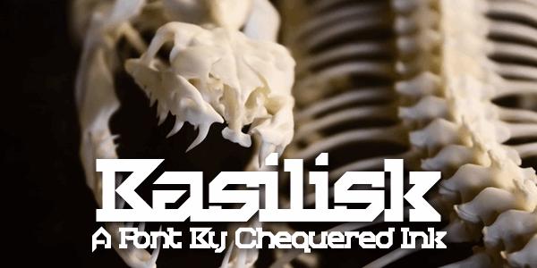 Image for Basilisk font