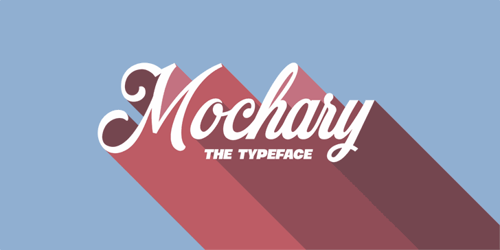 Image for Mochary PERSONAL USE ONLY font