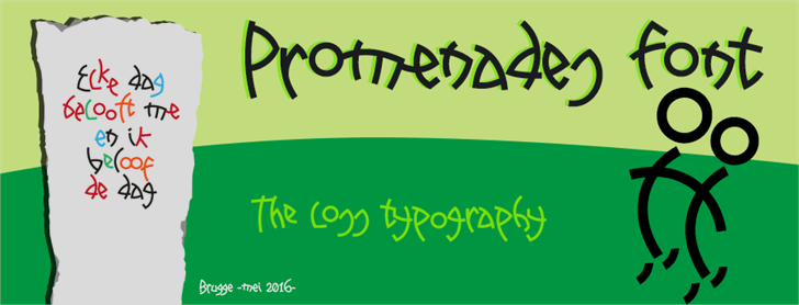 Image for Promenades font