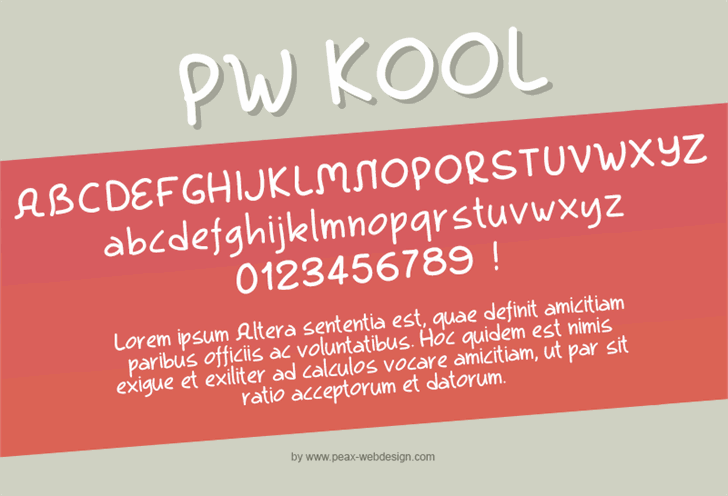 Image for PWKool font