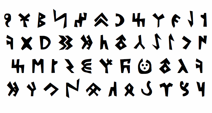 Image for Kylych font