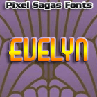 Evelyn font by Pixel Sagas