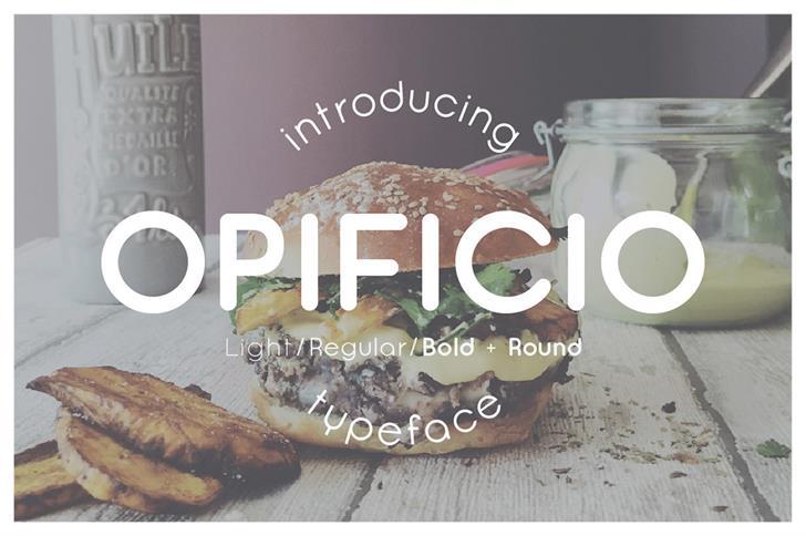 Image for Opificio font