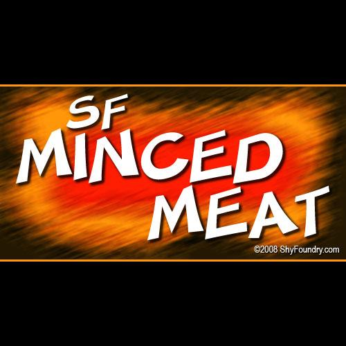 SF Minced Meat font by ShyFoundry