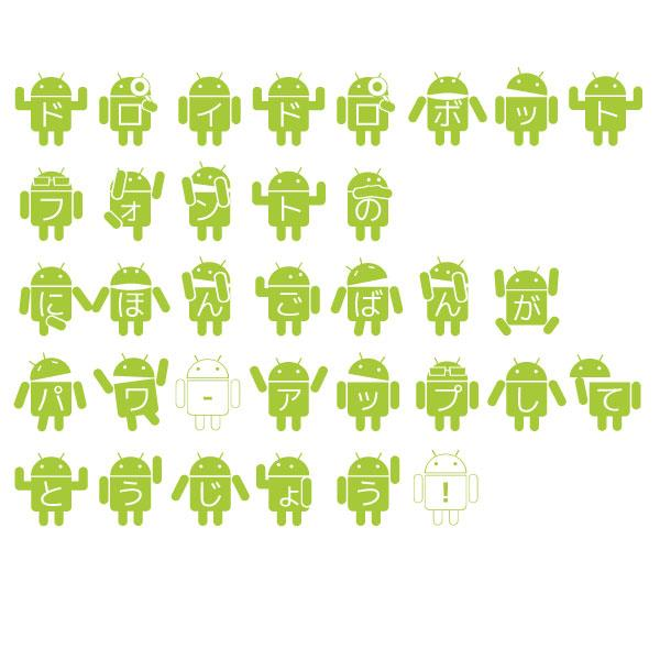 Image for Droid Robot Japanese font