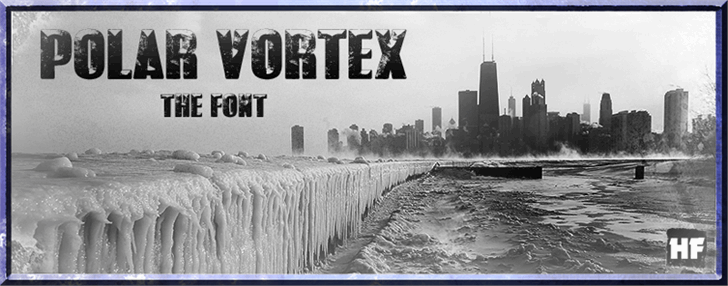 Image for POLAR VORTEX font