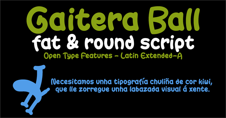 Image for Gaitera Ball font
