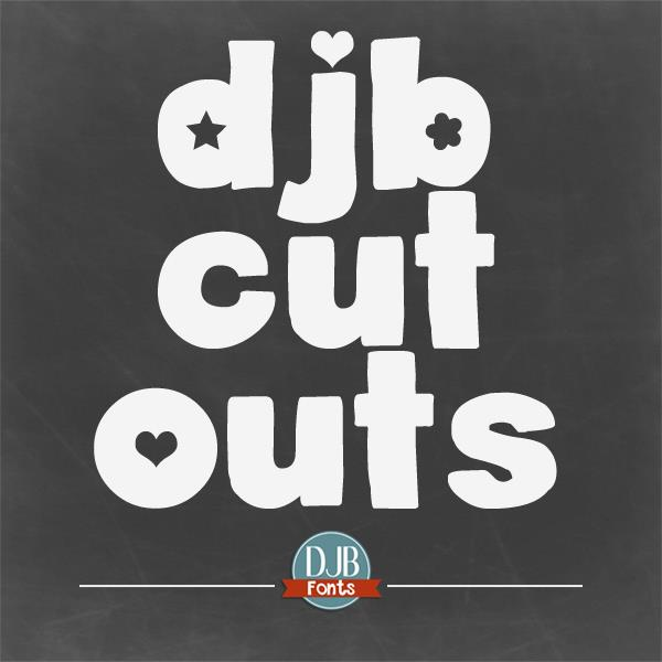 Image for DJB Cutouts font