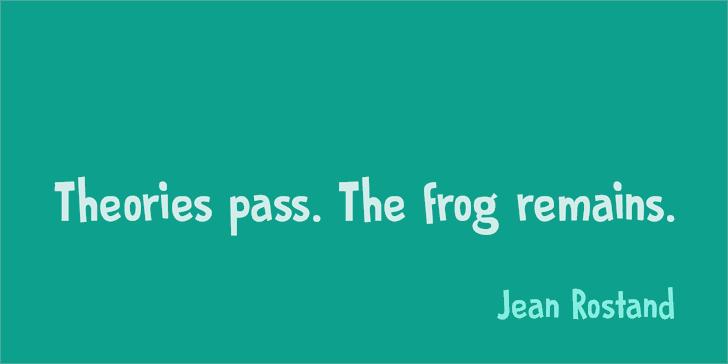 Image for DK Prince Frog font