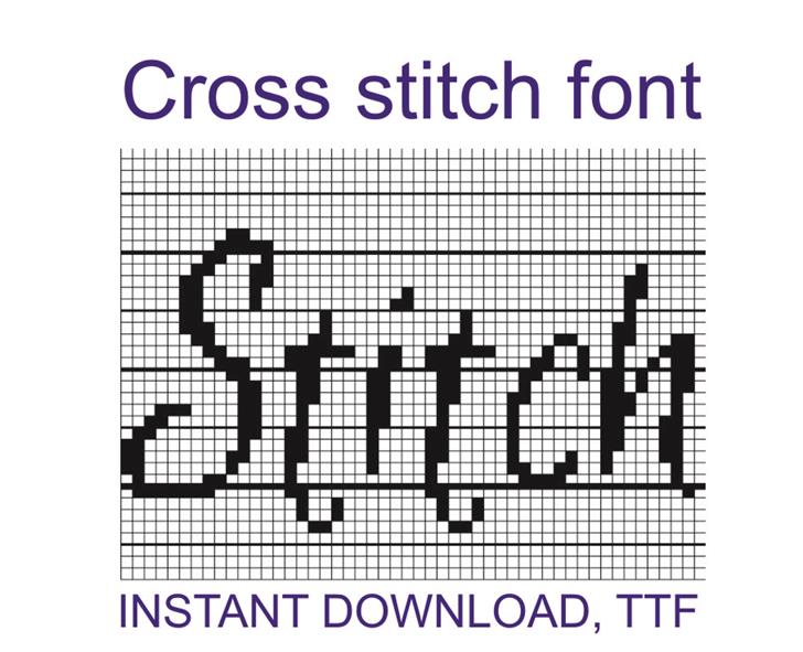 Image for CrossStitch font