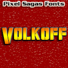 Volkoff font by Pixel Sagas