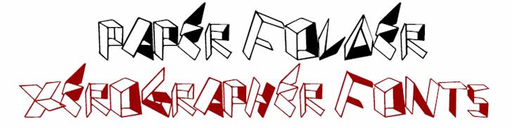 Image for PaperFolder font