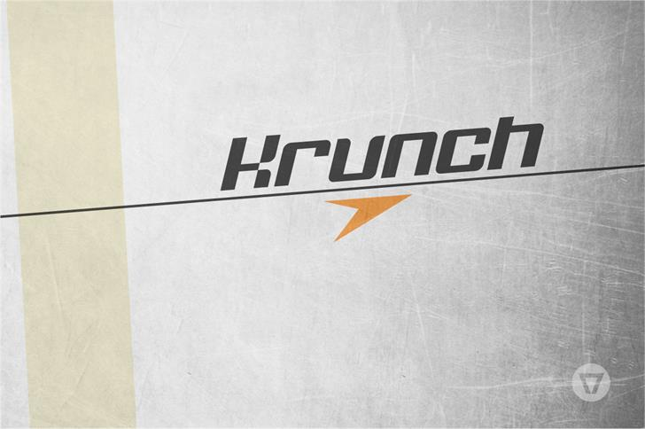 Krunch Font Download for Mac OS