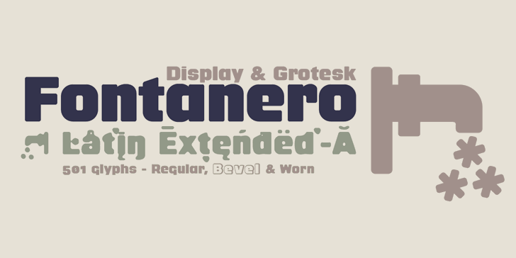 Image for Fontanero font
