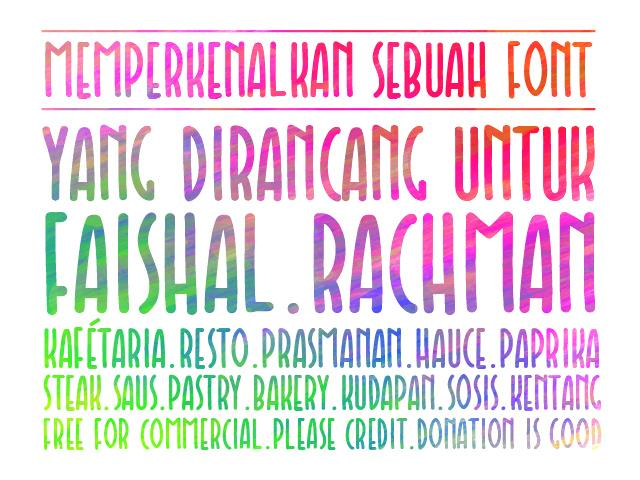 Image for Faishal font