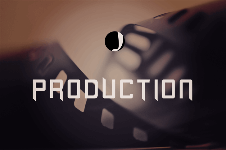Image for Production font
