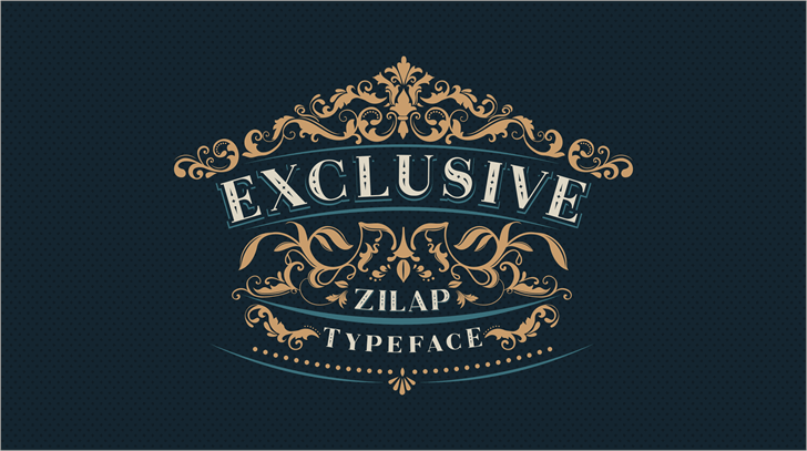 Image for Zilap Exclusive Personal use font