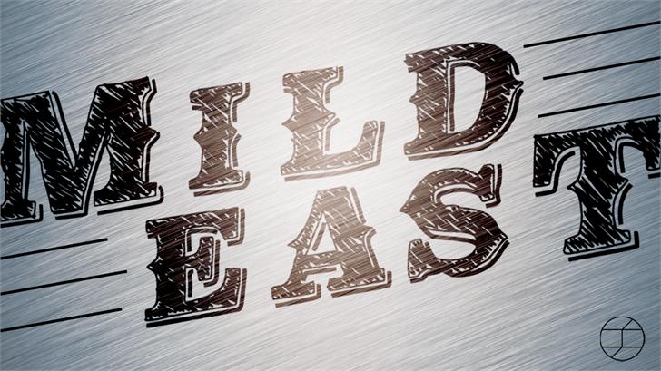 MildEast font by Jake Luedecke Motion & Graphic Design