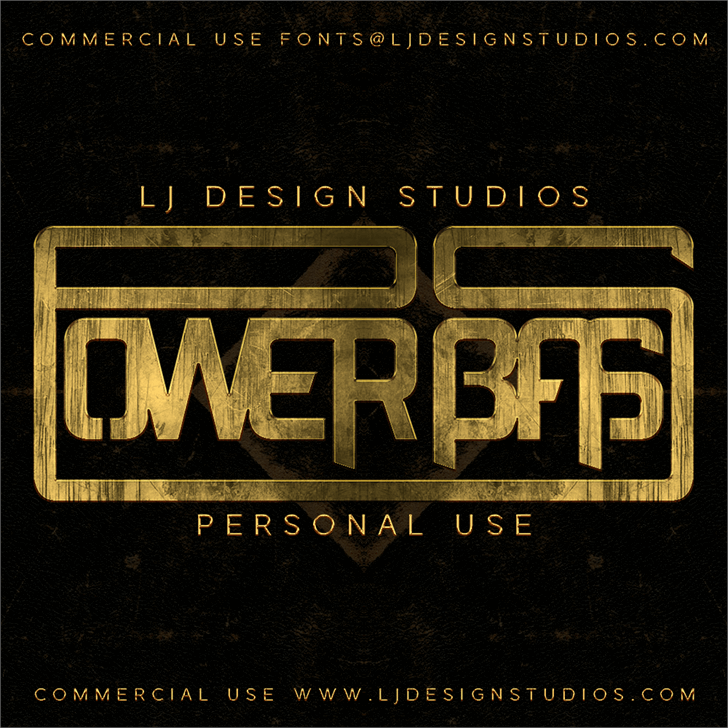 Image for Power Bass font