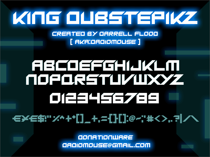 Image for King Dubstepikz font
