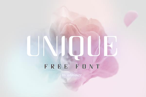 Image for Unique font