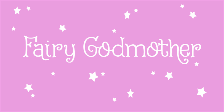 Image for Fairy Godmother DEMO font
