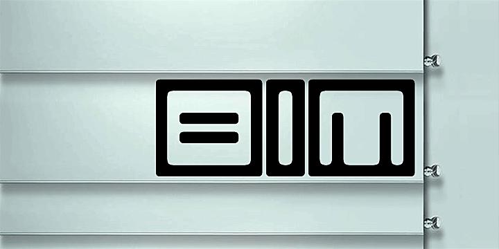 Image for Bim font