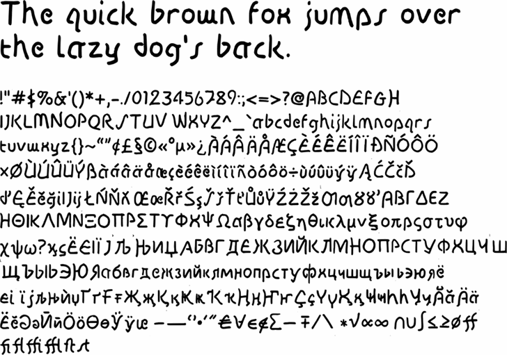 Image for Disco-Grudge font