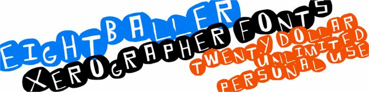Image for EightBaller font