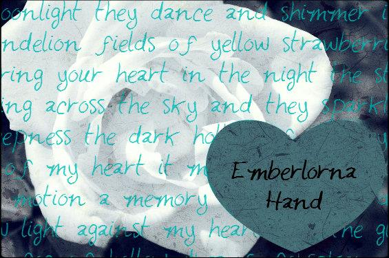 EmberlornaHand font by Emberlorna