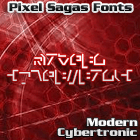 Image for Modern Cybertronic font